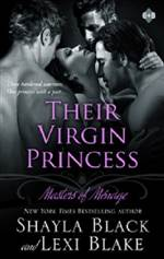 Their Virgin Princess (Masters of Ménage #4)